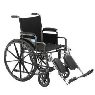 """Invacare Veranda Wheelchair (18"""" x 16"""") with Removable Arms and Legrests"""