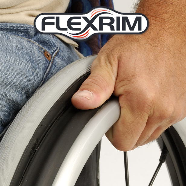 "Spinergy FlexRim Wheelchair Wheels 24""/25"""