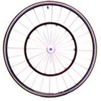 700c Aero Tubular Racing Wheels