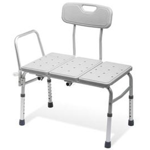Plus Non-Padded Bariatric Transfer Bench