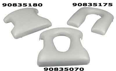 E&J Shower Commode Chair Replacement Padded Seats