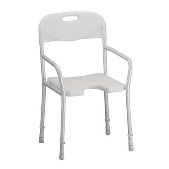 Nova Shower Chair with Back
