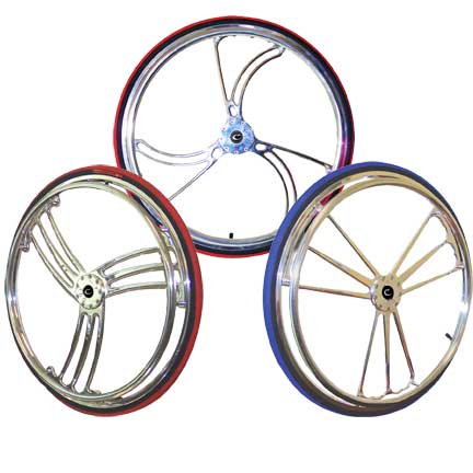 Colours Y-360 Aluminum Billet Wheels