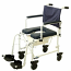 "Invacare Mariner Rehab Shower/Commode Chair w/5"" Casters"