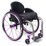 TiLite ZRA Rigid Titanium Wheelchair