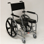 ACTIVAID 800 Adjustable Height Shower Commode Chair