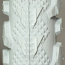 "Grey Knobby Wheelchair tires 24"" x 1.95"" (50-507) pair"