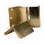 HealthSmart Expandable Door Hinges, Brass Box of 2
