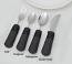 Eating Utensils Set - Fork, 2 Spoons, Rocker Knife
