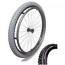 "Wheelchair Off Road Rear Wheels 24"" x 1.95 (50-507)"