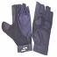 Sportaid Half Finger Full Thumb Wheelchair Gloves, Lycra w/Padded Palm
