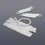 Hollister 18 oz Vented Leg Bag System with Fabric Leg Bag Straps - bx/10