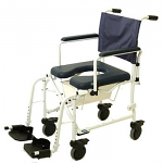 """Invacare Mariner Rehab Shower/Commode Chair w/5"""" Casters"""