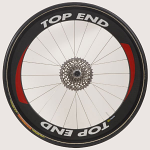 "26"" (571) Top End Carbon Fiber Front Wheel, Tubular"