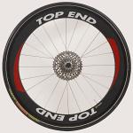 "26"" (571) Top End Carbon Fiber Front Wheel, Tubular"