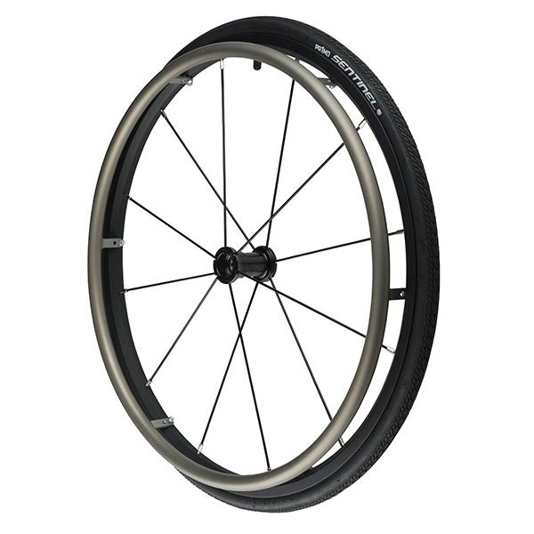 "25"" (559) Primo Sentinel Wheelchair Wheels w/12 Straight Pull Spokes"