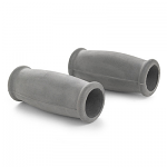 Invacare Solid Crutch Hand Grips - Gray