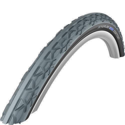 "Schwalbe Downtown Wheelchair Tires (37-540) 24 X 1-3/8"" - Wire Bead"
