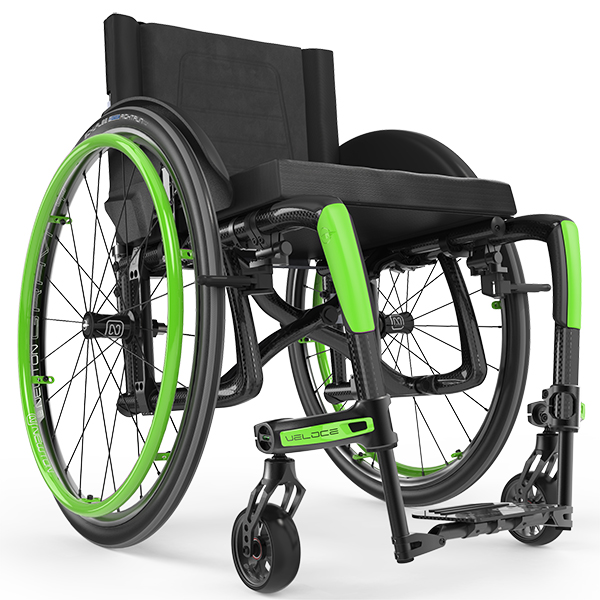 Veloce Ultra Lightweight Folding Wheelchair