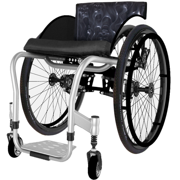 Colours ShockBlade Wheelchair