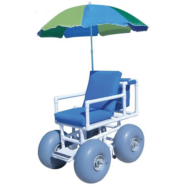 Aqua Creek Beach Access Chair - Umbrella Included