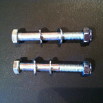 Wheelchair Caster Bolt Nut (5/16-24)