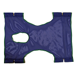 Invacare Standard Polyester Slings with Commode Opening