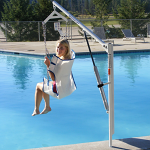 EZ Pool Lift by Aqua Creek