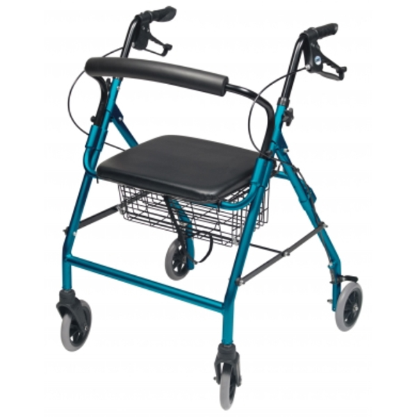 Lumex Walkabout Wide Four-Wheel Rollator