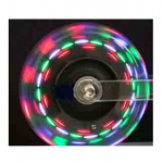 "3"" x 1"" Lighted Wheelchair Casters"