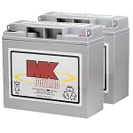 MK 40 Sealed Gel Battery Pair