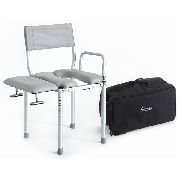 Nuprodx MultiChair 3000TX, Portable Folding Shower Chair