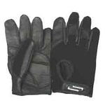 Sportaid Full Finger Leather Wheelchair Gloves