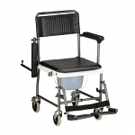 Nova Drop-Arm Shower/Commode Transport Chair