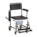 Nova Drop-Arm/Commode Transport Chair