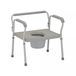 Nova Heavy Duty Commode with Extra Wide Seat