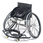 Quickie All Court Titanium Basketball Wheelchair