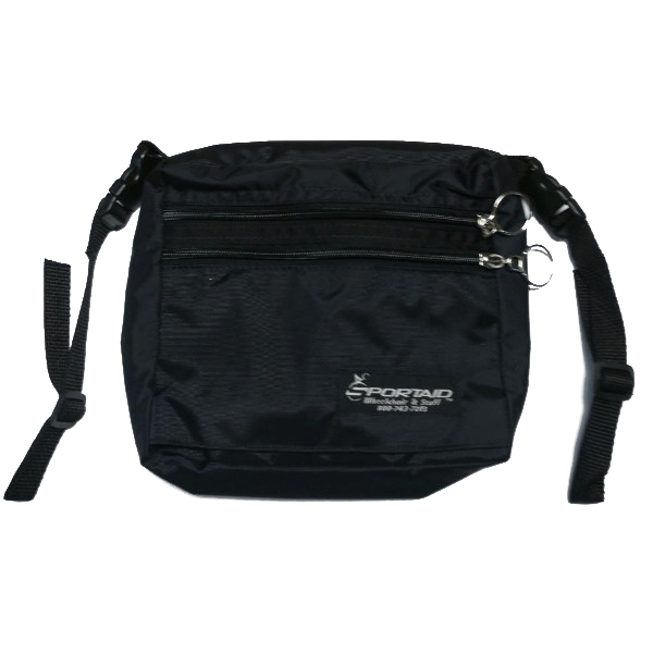 Sportaid Deluxe Wheelchair Seat Pouch Bag