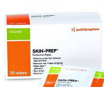 Skin Prep Barrier Wipes bx/50