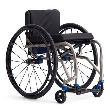 TiLite TX Series 2 Folding Titanium Wheelchair
