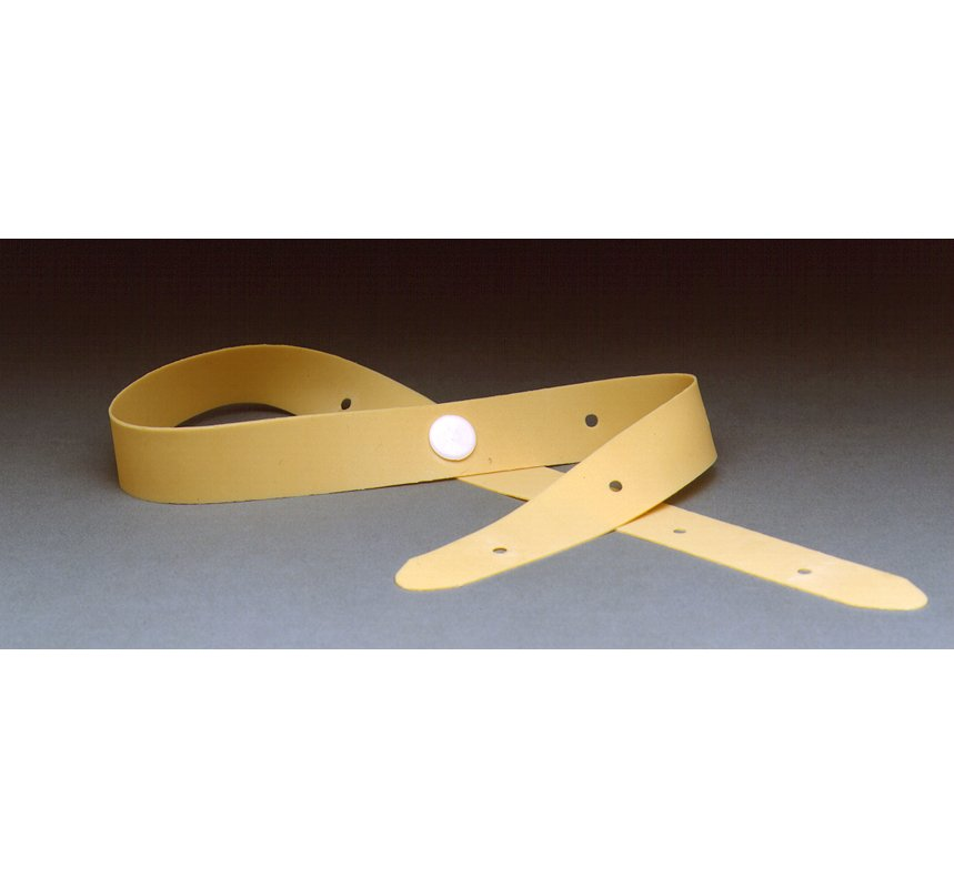 "Urocare Latex Leg Straps Size: 3/4"" wide x 21 3/4"" long"