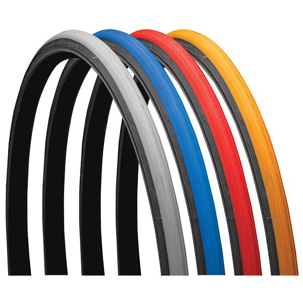 "Primo V-Trak Black Side Wheelchair Tires 24"" x 1"" (25-540) pair"
