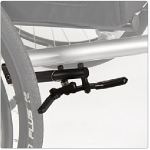 Hideaway Undermount Wheelchair Brakes with Clamp for Invacare/Top End