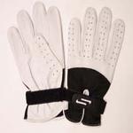 Sportaid Full Finger Leather Handball Gloves