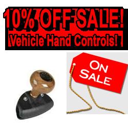 Vehicle Hand Controls Sale!