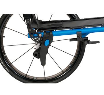 Swept-Back, Highly Adjustable Axle Plate Design