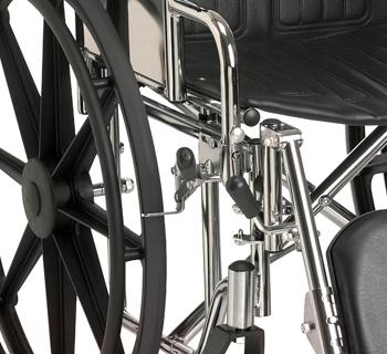 Durable, Chrome-Plated Steel Frames