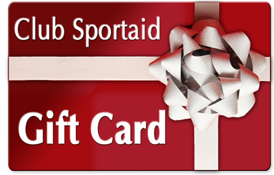 Club Sportaid Gift Card
