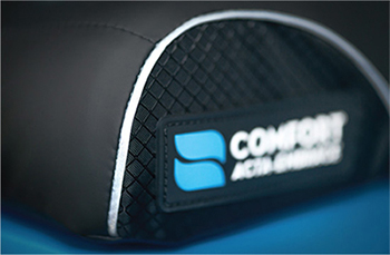Comfort Company Ridge Wheelchair Cushion - Be Seen, Be Safe