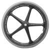 "24"" x 1"" X-Core 5 Spoke Everyday Wheelchair Wheel (25-540)"